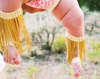 Bottomless gladiator sandals