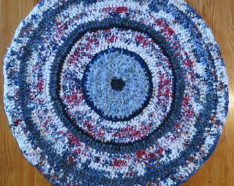 Crocheted Rag Rug