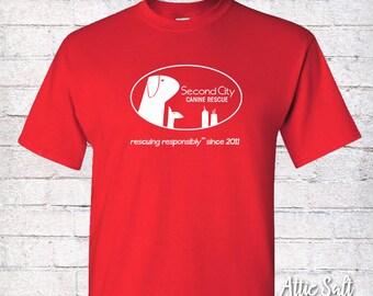 Classic Crew T-Shirt (Adult Unisex) - Oval Logo