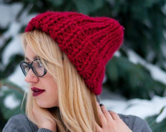Knitted hat onesize