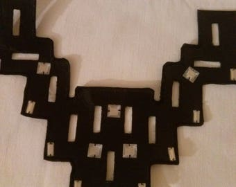 Pretty breastplate iron black