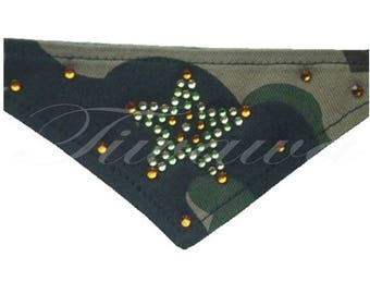 """Twinkling Star"" for small dog and cat bandana"