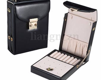 Black 1 box for jewelry bag shoulder display 13 x 5.5 x 18.5 cm within 15 days