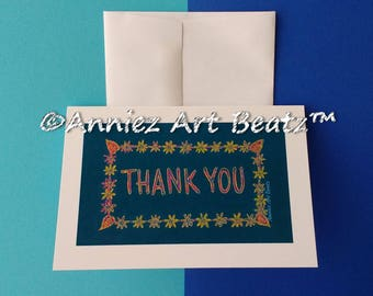 Thanksgiving cards/Thank You cards/hand drawn cards/greeting cards/