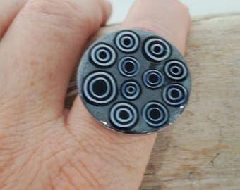 """Round ring """"MATAKI"""""""