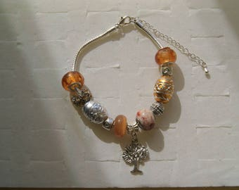 Bracelet pandora chocolate and tree