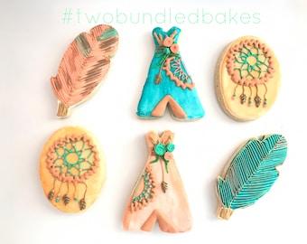 Tribal Boho Cookies