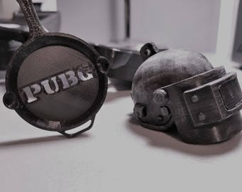 PUBG | Helmet | PlayerUnknown's Battlegrounds | Level 3 Helmet | Iconic Pan | Gift | Gaming | Xbox | PC