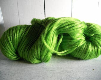 Skein of mohair and silk yarn, knitting, crocheting, weaving