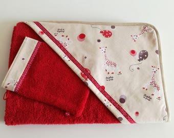 Bath 'Sophie' red sponge