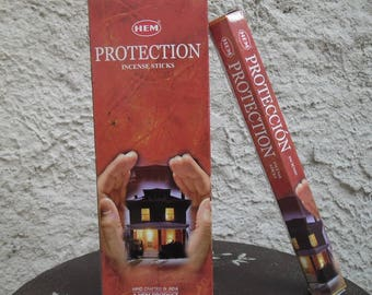 Box of 20 sticks of incense Protection to scent your home and pray