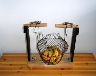 Basket fruit NET Fisher, industrial look