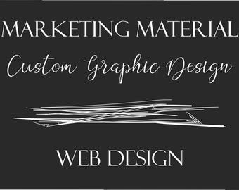 Custom Graphic Design - Wesbite Design