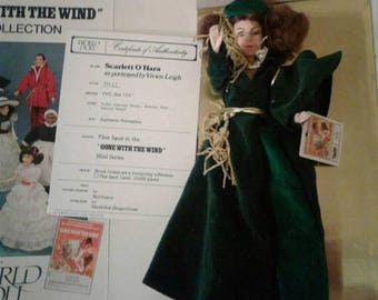 Vintage Gone With the Wind Collectible Scarlett O'Hara Doll
