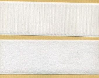 Scratch Velcro white 50 mm by 10 cm wide