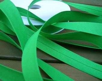 Green cotton bias