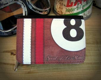 Textile wallet style Grand Prix by deco cars