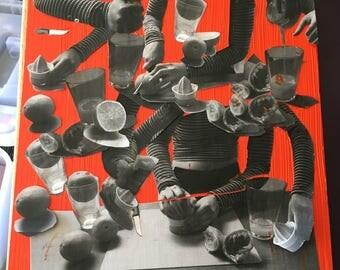 Orange Juice Collage