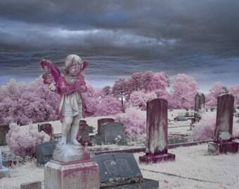 Tender Memories, Graveyard Photograph, wall art