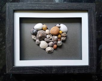 Shell heart picture