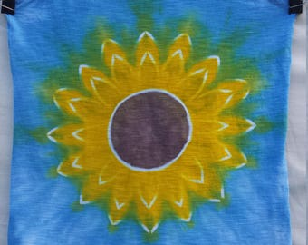 SUNFLOWER Size Small/Medium Ladies Tie Dye- FREE SHIPPING
