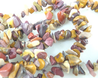 in Jasper mokaïte 30/35 PCs natural chips beads