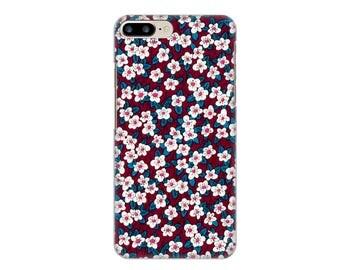 Hard iPhone case + 7 ffion Liberty plum 7
