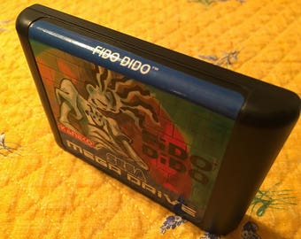 Fido Dido *Region-Free* Genesis *Repro* Unrelased Game cart