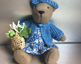 "Teddy bear ""MOM lavender"""