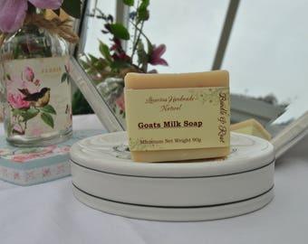 Goats Milk Soap = Luxurious, Handmade & 100% Natural