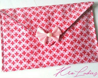 to order - choose fabric envelope clutch