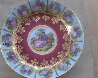 German porcelain dish