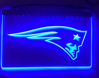 New England Patriots Acrylic Sign