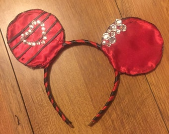 Queen of Hearts Mickey Mouse Ears