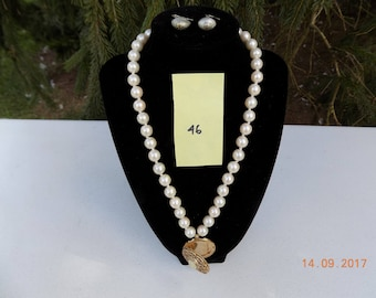 quality necklace and earrings