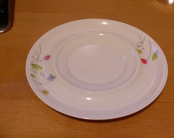 Mikasa Just Flowers Sauce and Gravy Tray only