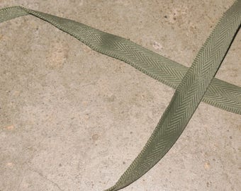1 tape lifts KHAKI 100% polyester 14 mm wide