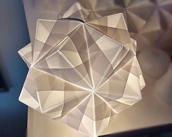 JEWEL origami lamp;white paper lamp;handmade lamp;home&living;table lamp;floor  lamp