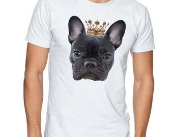 Royal french bulldog t shirt