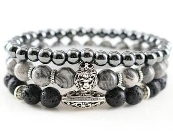 Perlenarm Bracelet for Men