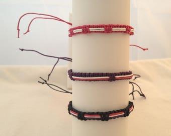 Cotton macrame Friendship Bracelet