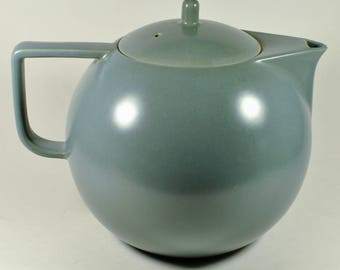 "Sasaki Colorstone Teapot, ""Mat"" (matte) Gray, Made in Japan."