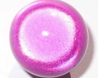 12 pearls 8mm magical fuchsias, 3D effect