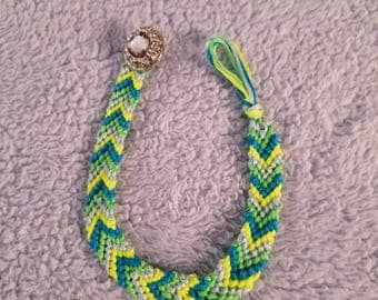 Chevron/Friendship Bracelet/Anklet