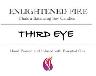 Third Eye Chakra Balancing Soy Candle