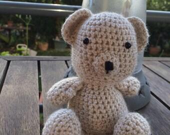 Fred bear sitting