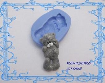 Mold plush teddy bear silicone cm