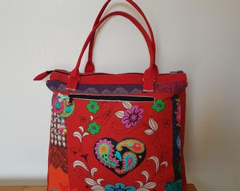 Heart pattern Mior purse