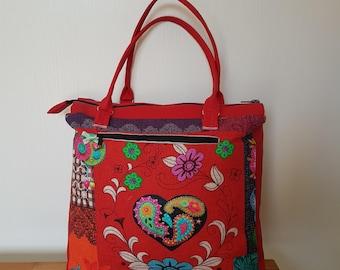 Heart pattern Mior purse