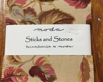 Sticks and Stones Prints charm pack
